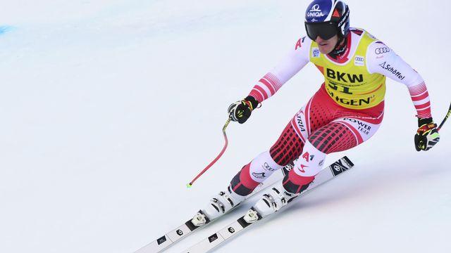 Ski: l'Autrichien Matthias Mayer remporte le combiné à Wengen. [Marco Tacca - AP Photo/ Keystone]