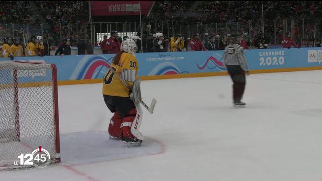 Les JOJ 2020 sont aussi l'occasion de découvrir de nouveaux sports. Exemple le hockey sur glace 3 contre 3. [RTS]