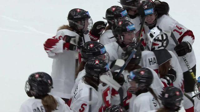 Hockey dames, République tchèque – Suisse (0-1 tb): victoire pour les Suissesses [RTS]