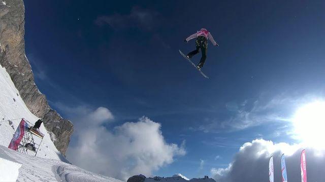 Leysin (SUI), slopestyle dames: Bianca Gisler (SUI) médaillée de bronze [RTS]