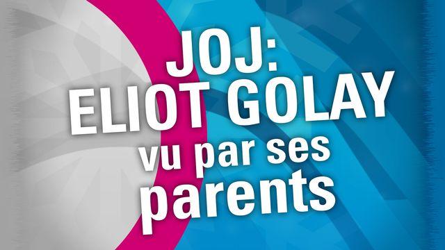 JOJ 2020: Patrizia et Laurent évoquent leur fils Eliot [RTS]