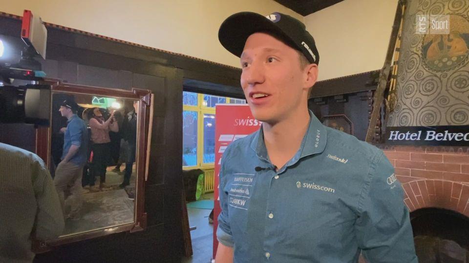 """Ski: Tanguy Nef: """"Je suis entré dans la cour des grands"""""""