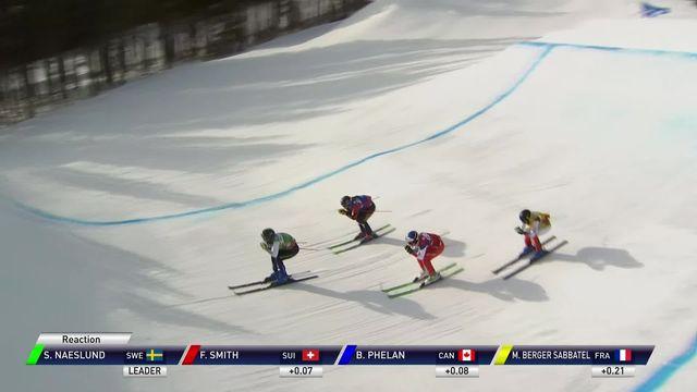 Nakiska (CAN), finale dames: Naeslund (SUE) s'impose, Smith (SUI) finit 3e [RTS]
