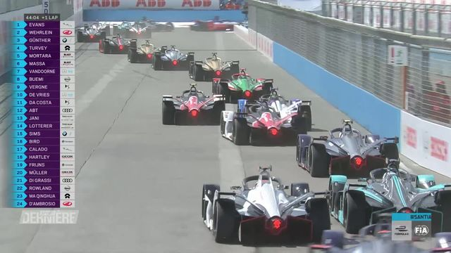 Formule E, San Tiago du Chili: victoire de Günther (ALL), Müller (SUI) 11e [RTS]