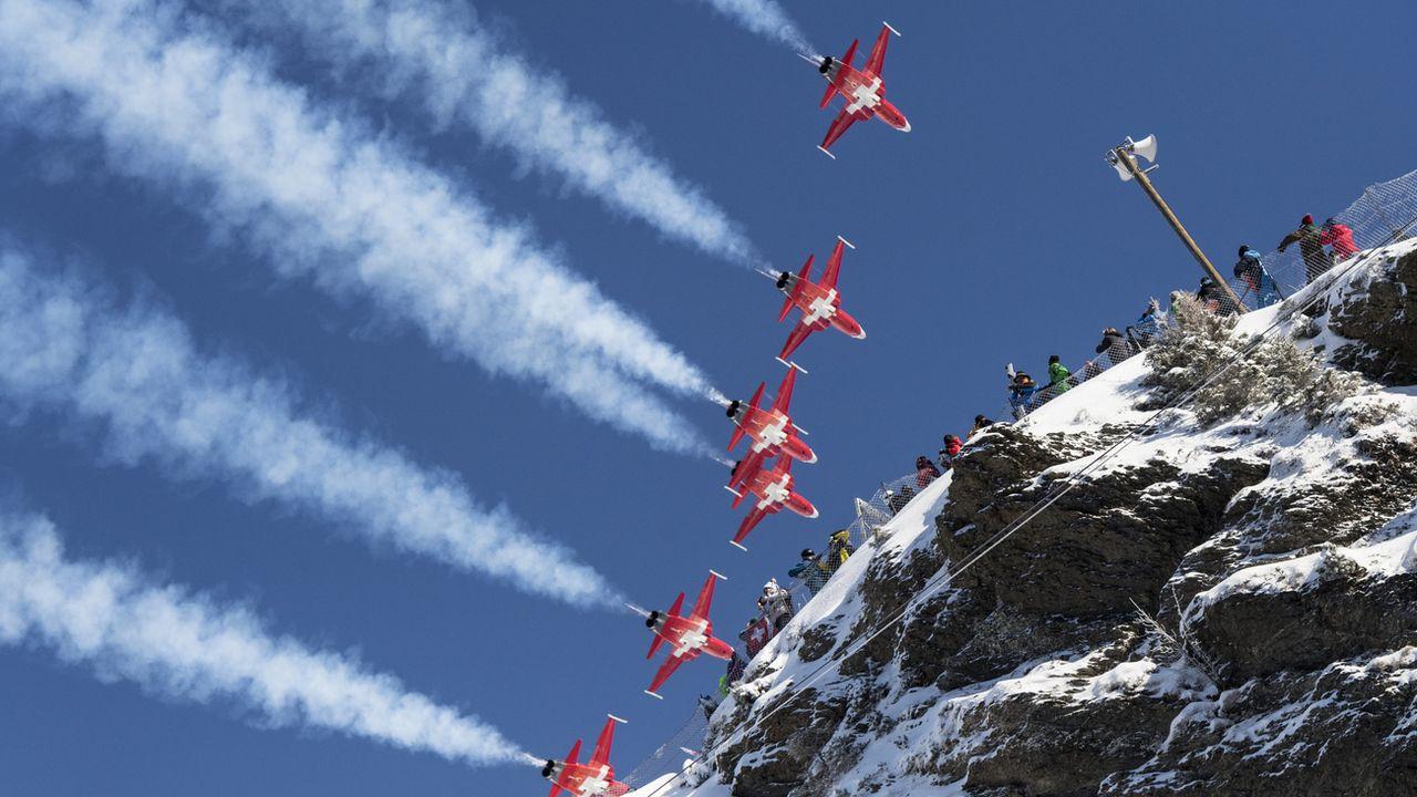 La grosse panne de Swisscom a aussi touché les Forces aériennes [Anthony Anex - Keystone]