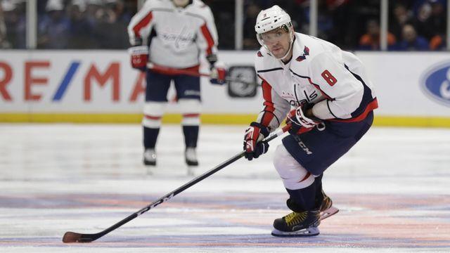 Alex Ovechkin a réalisé une nouvelle démonstration offensive en NHL. [Frank Franklin II - Keystone]