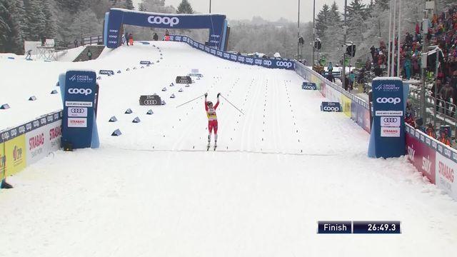 Nove Mesto (CZE), poursuite 10km dames: victoire de Therese Johaug (NOR) [RTS]
