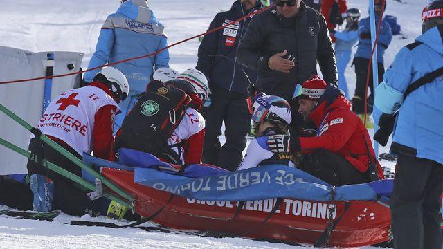 Ski: rupture du ligament croisé pour Aline Danioth