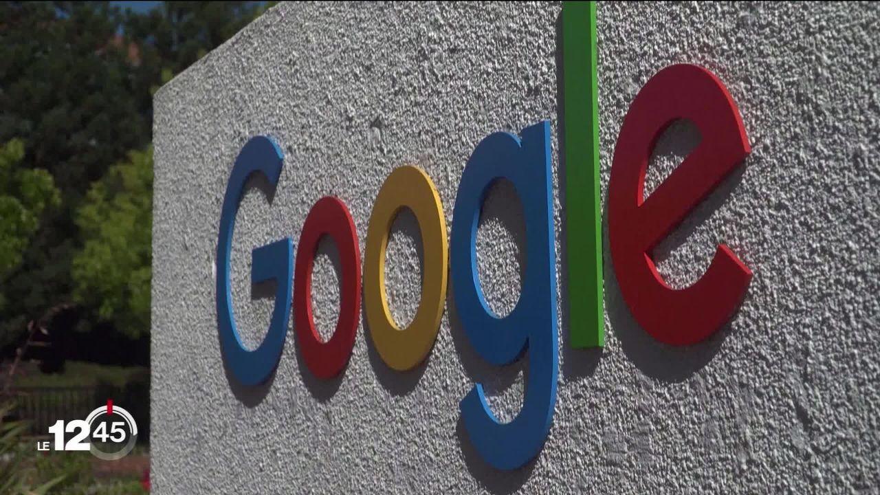 La maison mère de Google vaut désormais plus de 1000 milliards de dollars en bourse. [RTS]