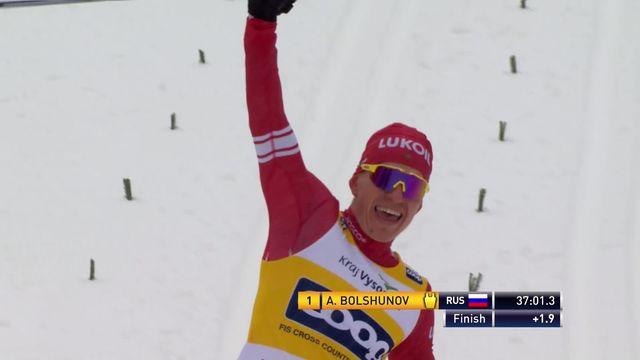 Nove Mesto (CZE), poursuite 15km messieurs: Alexander Bolshunov (RUS) est le plus rapide [RTS]