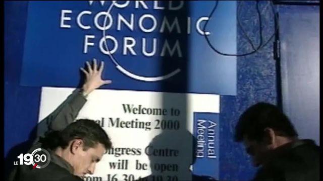 Le WEF a 50 ans, et il fait face au défi climatique [RTS]