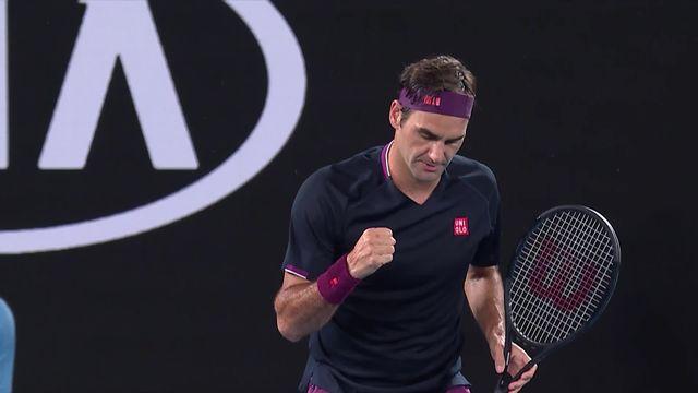 1er tour, S.Johnson (USA) – R.Federer (SUI) (3-6, 2-6, 2-6): Roger en jambes pour entamer le tournoi [RTS]