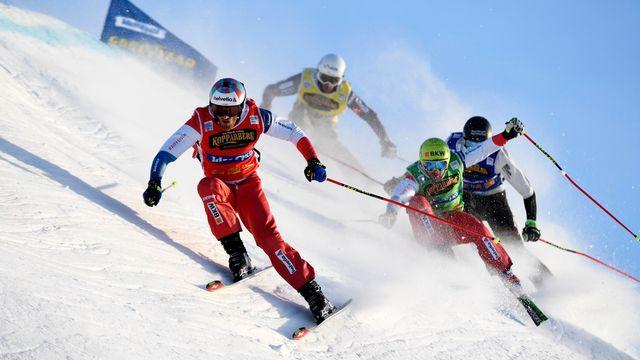 Skicross 2020 [EPA TT News Agency - Keystone]