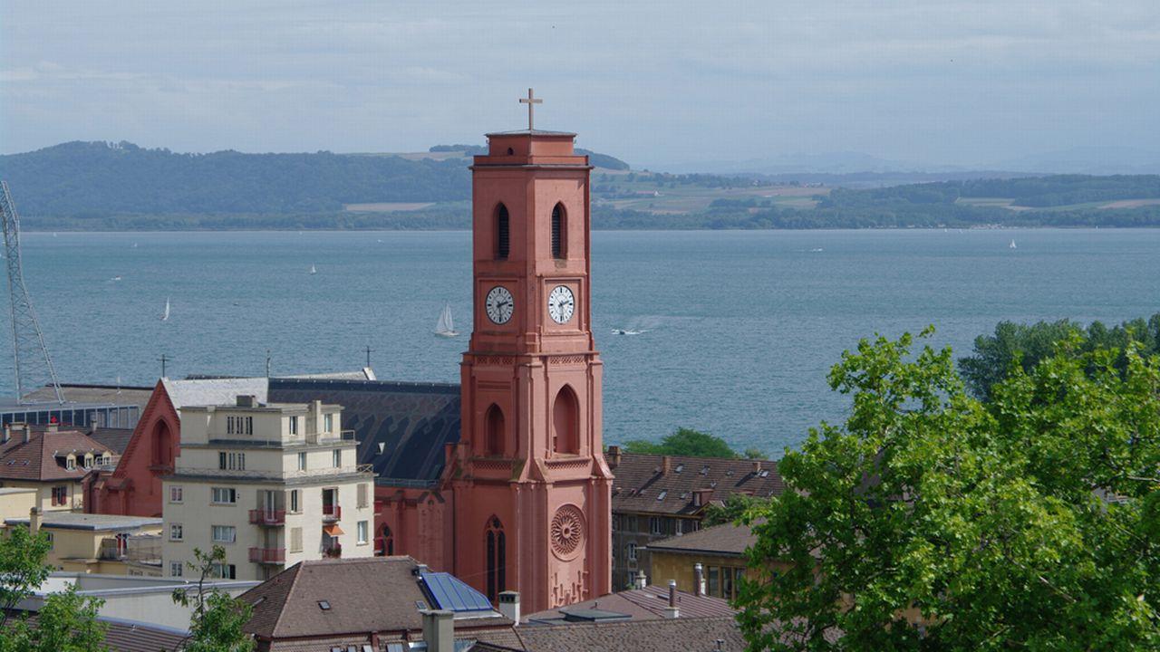 La ville de Neuchâtel va organiser un grand concours d'urbanisme pour réaménager toute la zone entre le centre-ville et le lac. [Frhuynh - Fotolia]