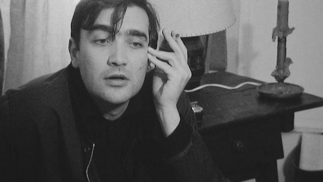 """Michel Soutter en 1967, au moment de la sortie de """"La lune entre les dents"""". [RTS]"""
