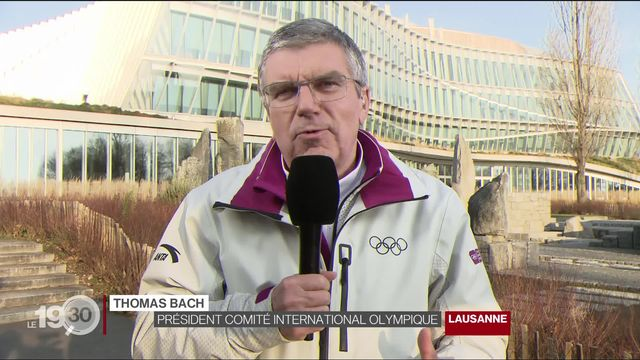 """Thomas Bach: """"Les JOJ 2020 à Lausanne sont un immense succès. Merci à tous ceux qui ont accueilli les athlètes."""" [RTS]"""