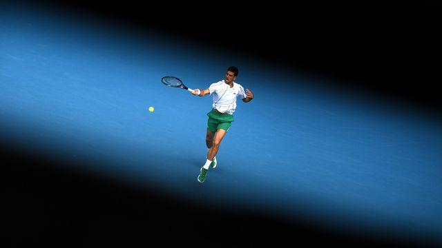 Djokovic n'a laissé aucune chance à Tatsuma Ito. [Lukas Coch - Keystone]