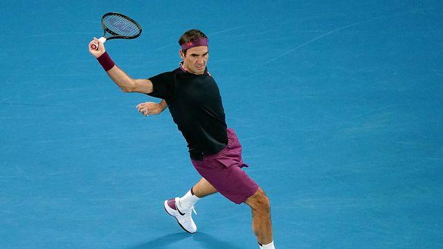 Roger Federer, un départ en mode express. [Michael Dodge - AP Photo]