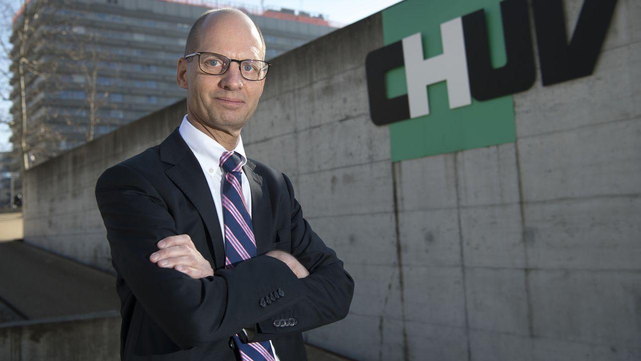 Philippe Eckert, directeur général du CHUV. Laurent Gillieron Keystone/ATS [Laurent Gillieron - Keystone/ATS]
