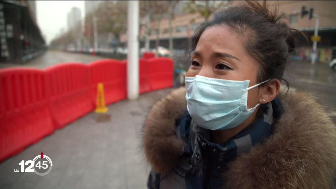 Après Wuhan, d'où est partie le mois dernier l'épidémie de coronavirus, les autorités chinoises ont placé une deuxième ville en situation de quarantaine. [RTS]