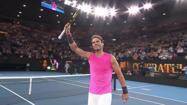2e tour, R.Nadal (ESP) – F.Delbonis (ARG) (6-3, 7-6, 6-1): Nadal qualifié sans forcer [RTS]