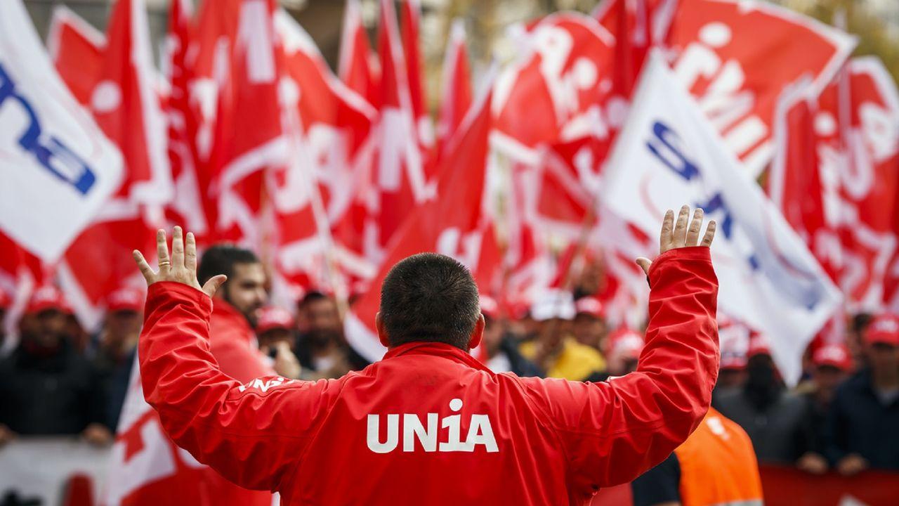 Syndicat en Suisse: Quelles sont les personnes qui sʹengagent professionnellement dans les syndicats en Suisse? [Valentin Flauraud - Keystone]