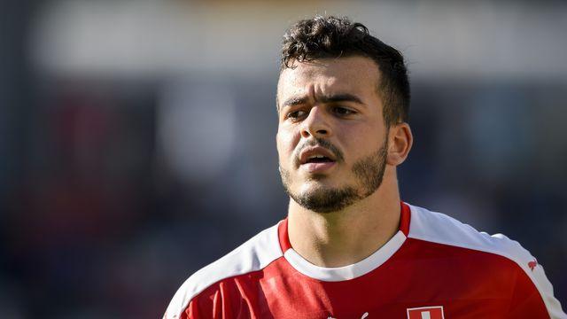 Lorenzo Gonzalez, qui a parfait sa formation à Manchester City, s'est engagé jusqu'en 2023 avec le FC Saint-Gall. [Anthony Anex - Keystone]