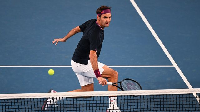 "Roger Federer a frisé le code dans une ""night-session"" de haut vol. [William West - AFP]"