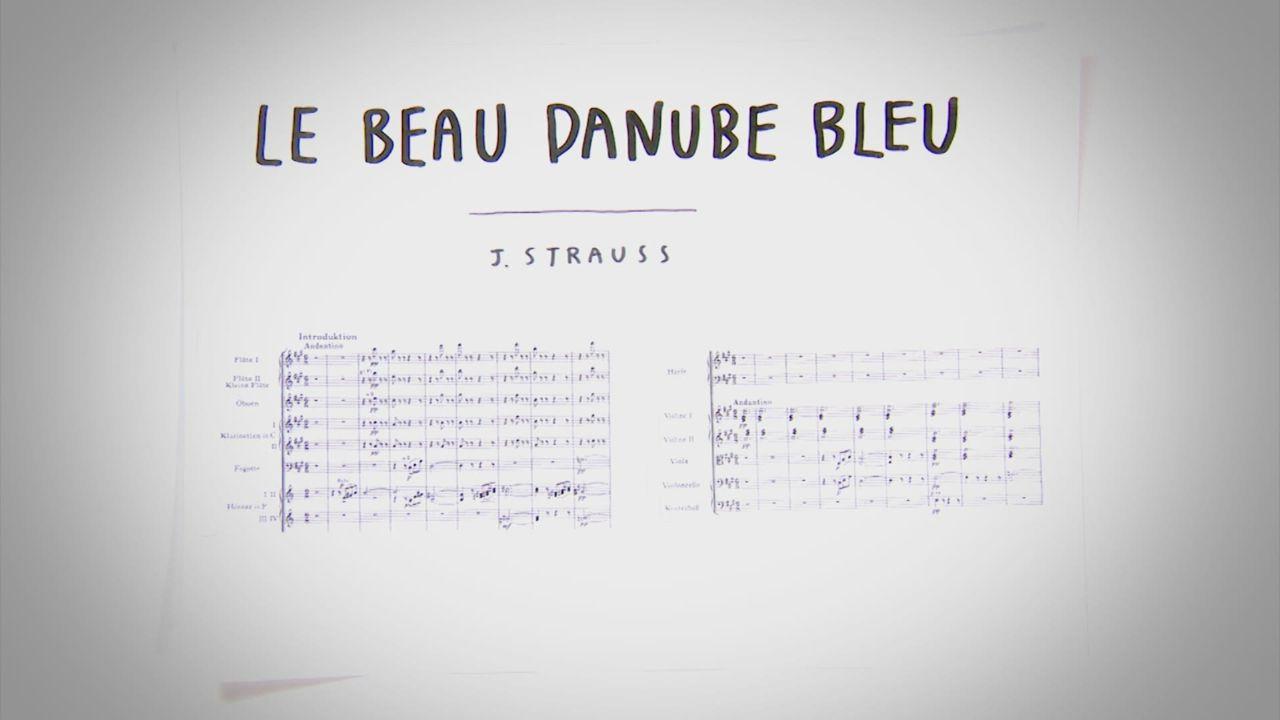 Johann Strauss - Le Beau Danube Bleu [RTS]