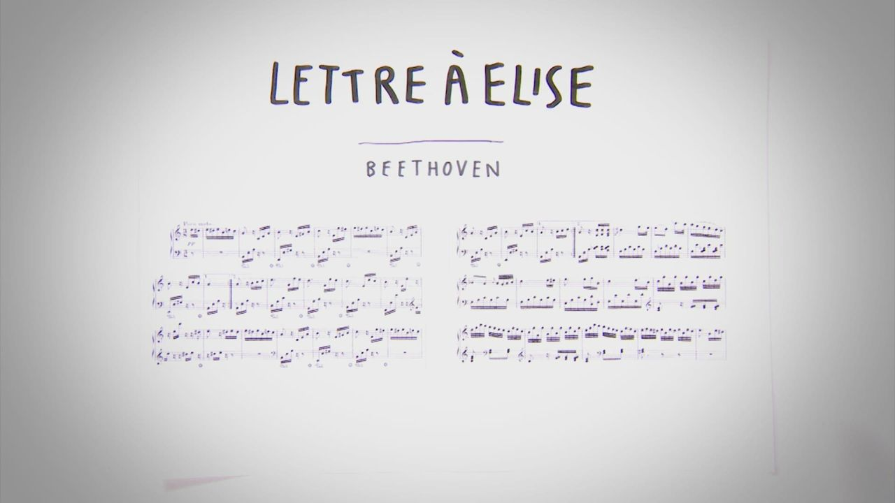 Ludwig van Beethoven - Lettre à Elise [RTS]