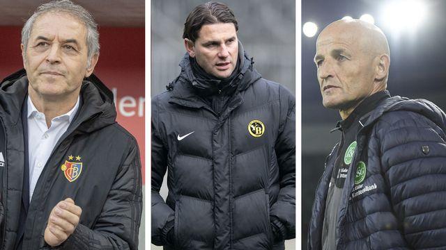 Koller, Seoane et Zeidler: qui de ces 3 entraîneurs sera sacré champion? [Keystone]
