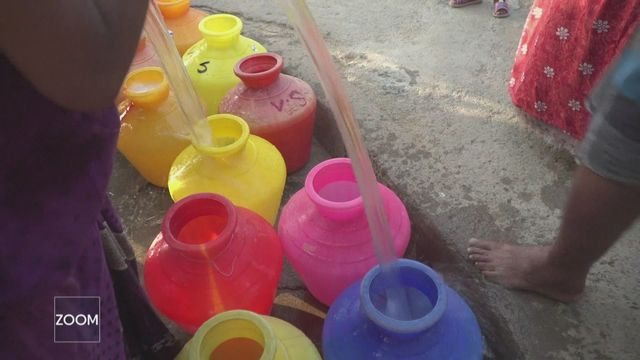Les graves pénuries d'eau qui menacent 470 millions de personnes [RTS]