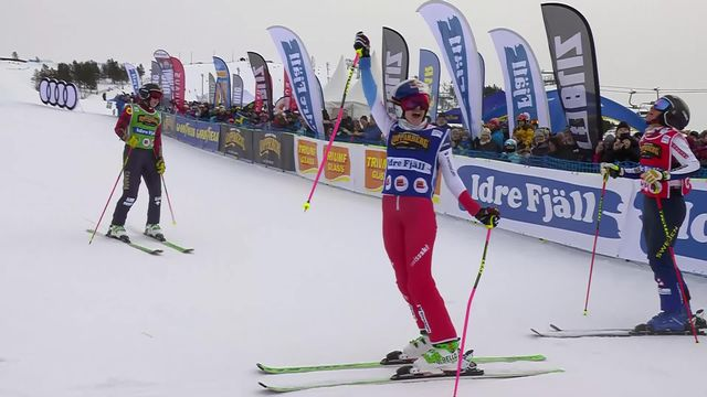 Idre Fjall (SWE), Skicross dames: Fanny Smith (SUI) gagne la finale [RTS]