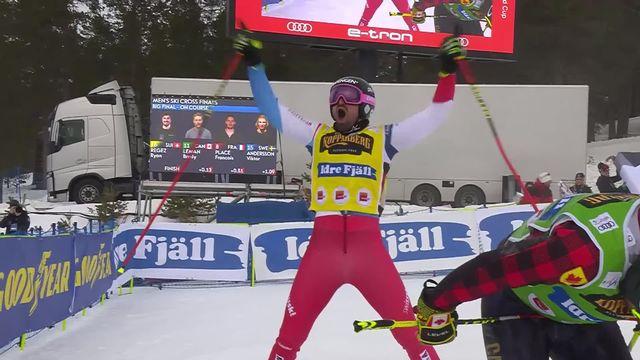 Idre Fjall (SWE), Skicross messieurs: Ryan Regez (SUI) vainqueur également [RTS]
