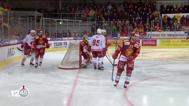 Hockey sur glace: le résumé des matchs de la soirée de vendredi. [RTS]