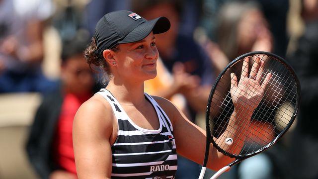 Ashleigh Barty jouait sa première demi-finale en Grand Chelem. [SRDJAN SUKI - EPA]