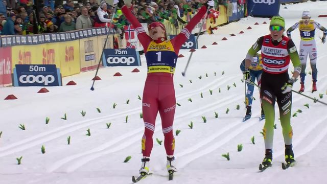 Oberstdorf (ALL), sprint dames: victoire de Nepryaeva (RUS) [RTS]
