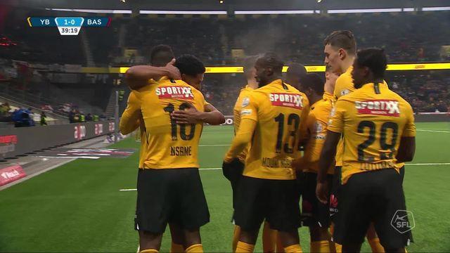 19e journée, Young Boys - Bâle (2-0): les Bernois s'imposent et prend 5 pts d'avance sur les Bâlois [RTS]