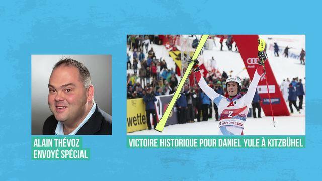 Daniel Yule remporte le slalom de Kitzbühel [RTS]