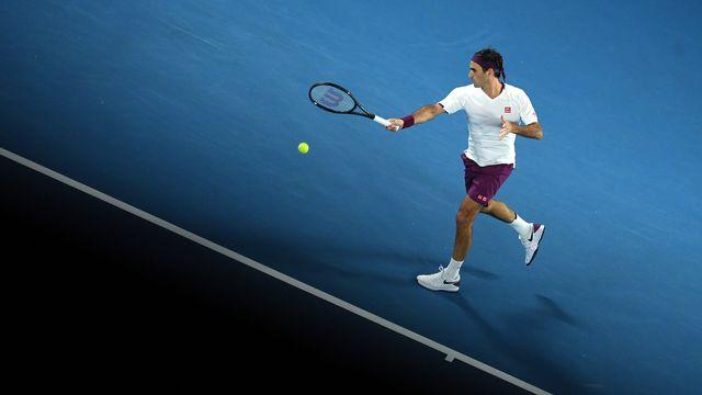 """Open d'Australie: Roger Federer évite la """"night session"""""""