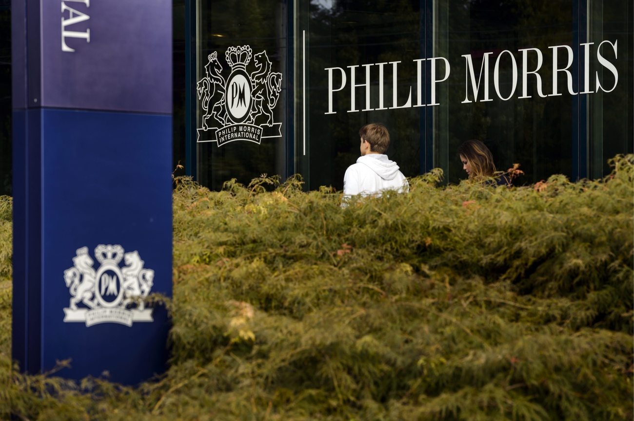 Le siège international de Philip Morris à Lausanne.