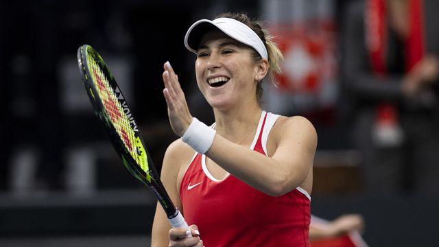 Fed Cup USA - Suisse [Anthony Anex - Keystone]