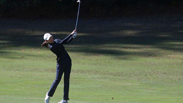 Valenzuela avait décroché sa place dans le LPGA Tour en novembre dernier. [Matt Sullivan - AFP]