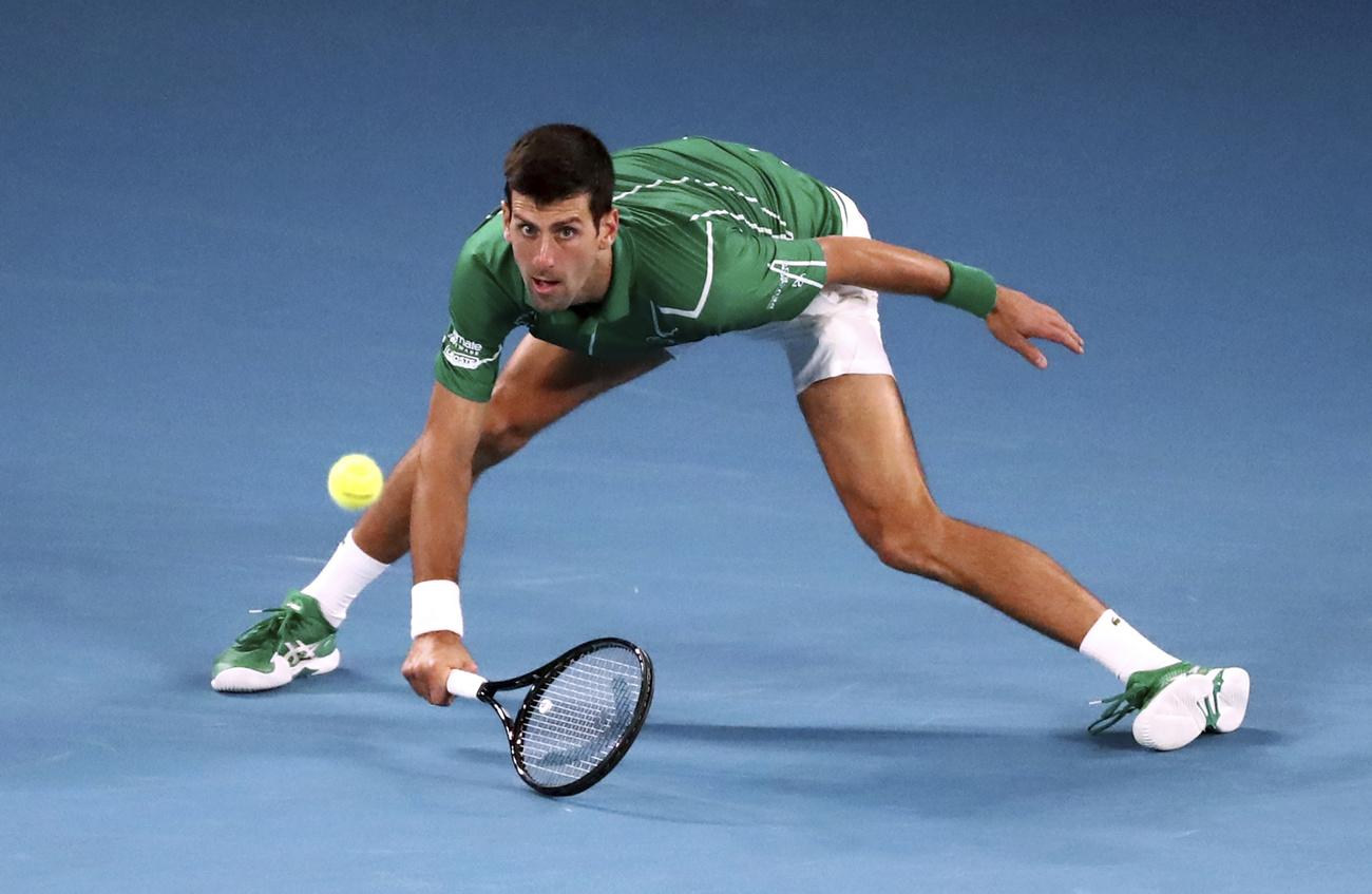 Djokovic ne tremble pas pour rejoindre Federer — Open d'Australie