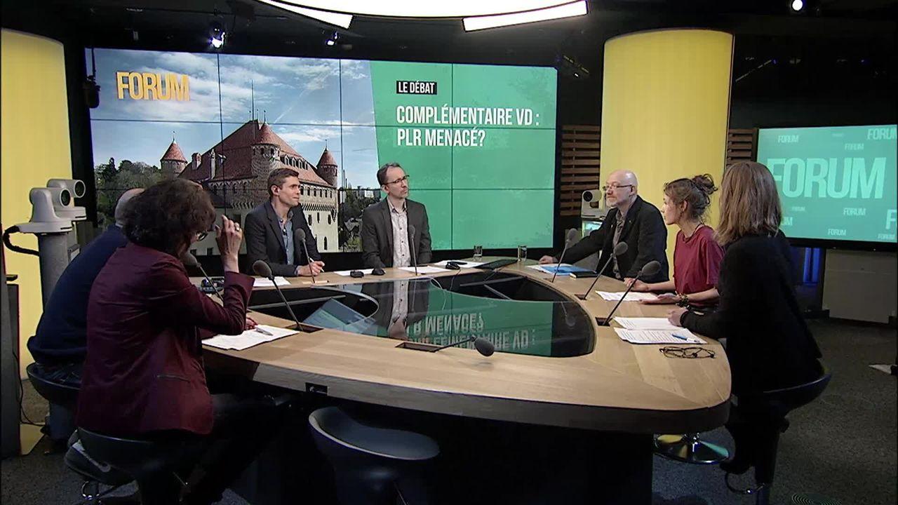 Le débat - Complémentaire Vaud: PLR menacé? [RTS]
