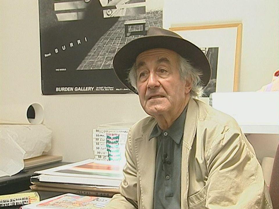 Le photographe suisse René Burri en 2004. [RTS]