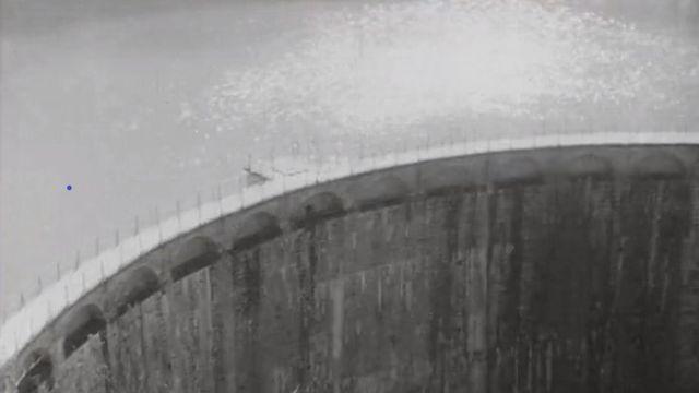 Le barrage de Rossens dans le canton de Fribourg. [RTS]