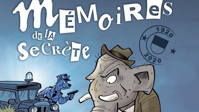 """Couverture de """"Mémoires de la Secrète"""". [Edition Fleurs Bleues ]"""