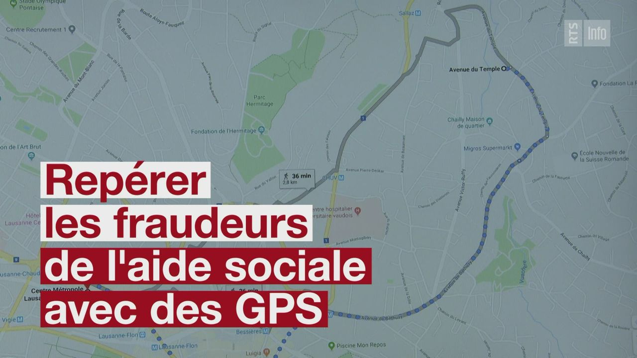 Un GPS pour lutter contre les fraudeurs [RTS]