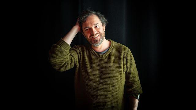 Jonathan Capdevielle, comédien, metteur en scène. [Laurent Bleuze - RTS]